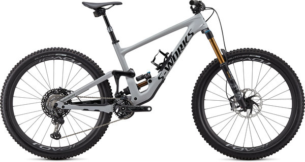 Specialized S-Works S-Works Enduro Carbon 29 Color: Gloss Dove Gray/Gloss Black/Rocket Red