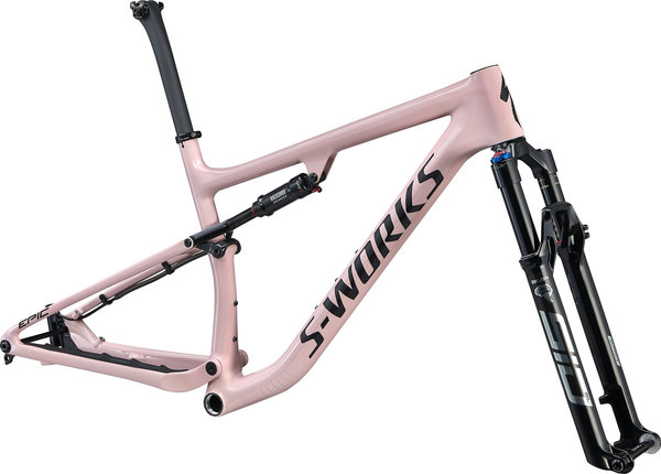 Specialized S-Works Epic Frameset Color: Gloss Blush/Black