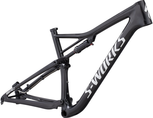 Specialized S-Works Epic Frameset Color: Gloss Carbon/White