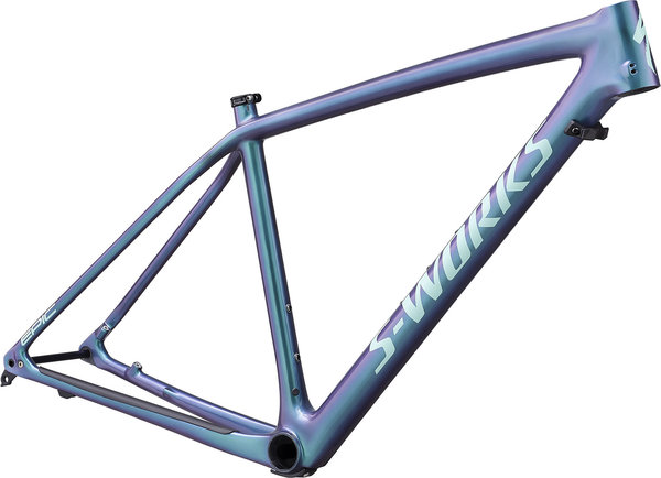 Specialized S-Works Epic Hardtail Frameset Color: Gloss Oil Slick/Mint