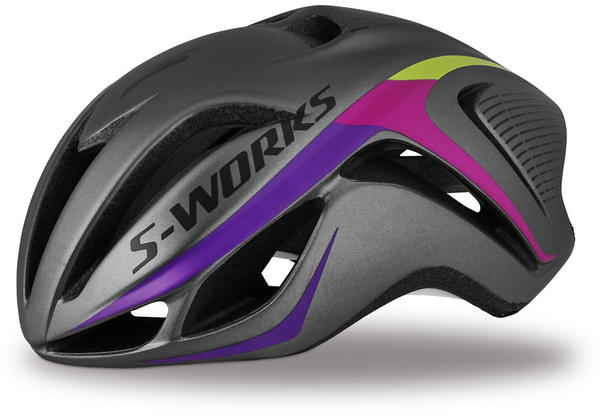 Specialized S-Works Evade Color: Charcoal/Fuschia