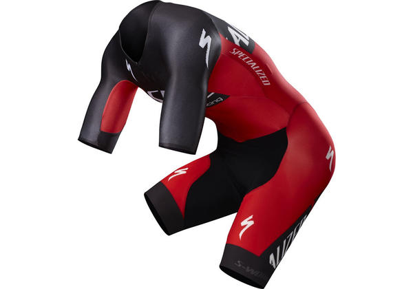 Specialized S-Works Evade TT Skinsuit Color: Team Red/Black