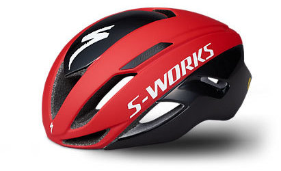 Specialized S-Works Evade II With ANGi Color: Team Red/Black