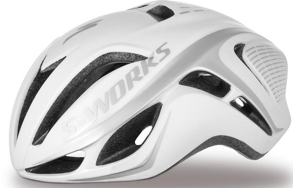 Specialized S-Works Evade Tri Color: White/Silver