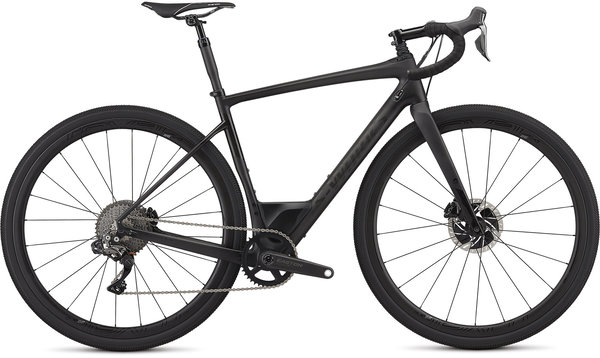 Specialized S-Works Men's Diverge Color: Satin Carbon/Gloss Black
