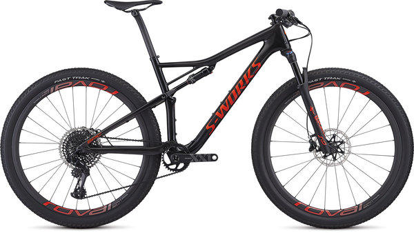 Specialized S-Works Men's Epic Color: Gloss Carbon/Rocket Red