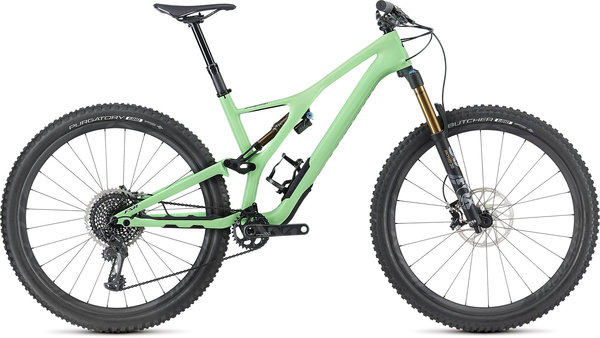 Specialized S-Works Men's Stumpjumper 29 Color: Gloss Acid Kiwi/Black
