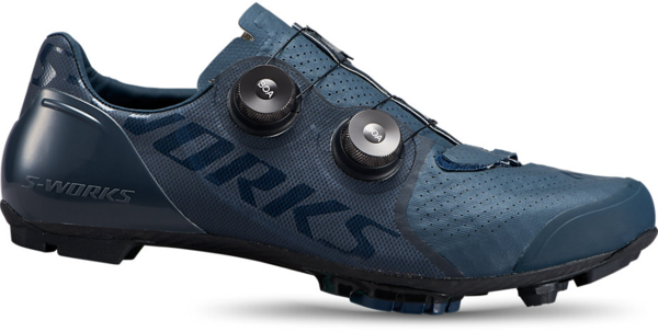 Specialized S-Works Recon Mountain Bike Shoes Color: Cast Blue Metallic