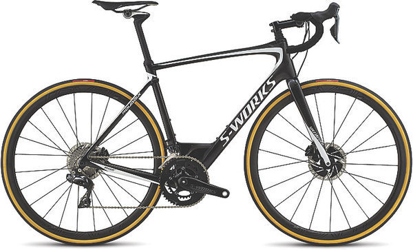 Specialized S-Works Roubaix Dura-Ace Di2 Color: Carbon/Metallic White Silver