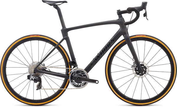 Specialized S-Works S-Works Roubaix - SRAM Red eTap AXS Color: Satin Carbon/Tarmac Black