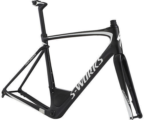 Specialized S-Works Roubaix Frameset Color: Carbon/Metallic White Silver