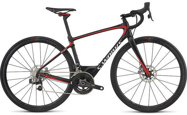 Specialized S-Works Ruby eTap Color: Tarmac Black/Nordic Red/Chrome
