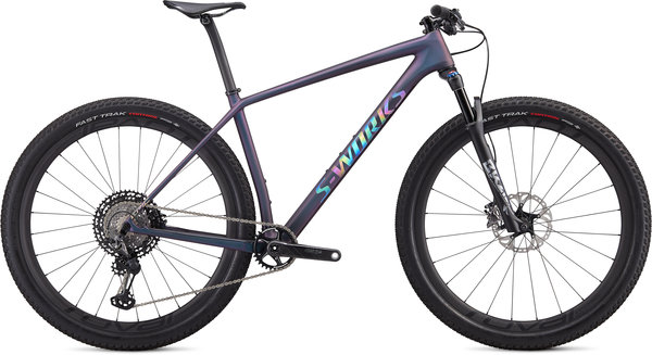 Specialized S-Works S-Works Epic Hardtail XTR Color: Satin Chameleon Supernova/Holographic Reflective