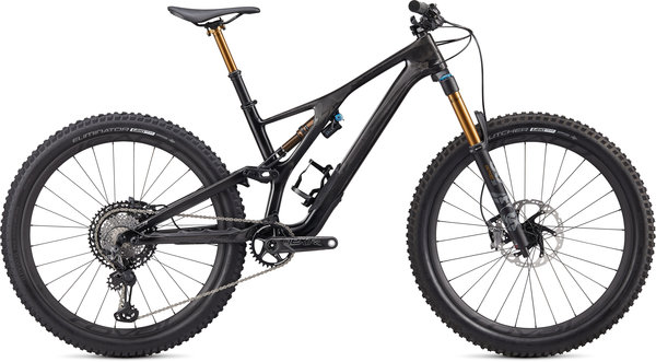 Specialized S-Works S-Works Stumpjumper 27.5 Color: Gloss Carbon/Black Chrome