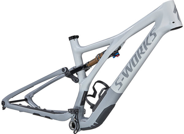 Specialized S-Works Stumpjumper Frame Color: Gloss Dove Grey/Cool Grey