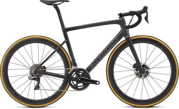Specialized S-Works Tarmac Disc (j2) Color: Satin Black/Silver Holo/Clean