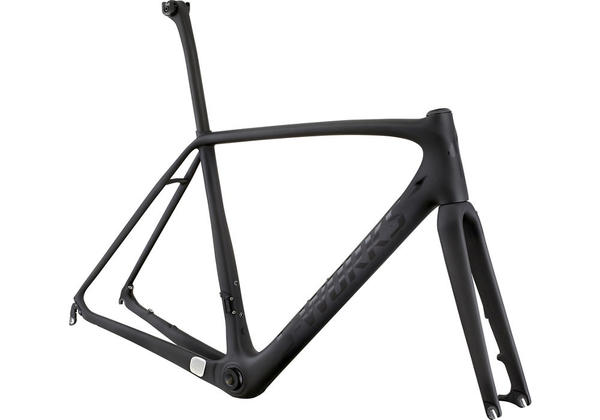 Specialized S-Works Tarmac Disc Frameset Color: Satin/Gloss Carbon Clean