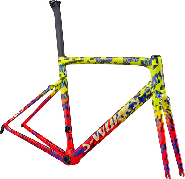Specialized S-Works Tarmac Frameset Color: Gloss Team Yellow/Rocket Red