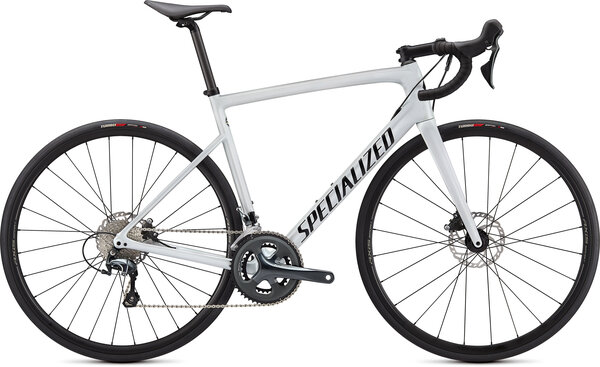 Specialized Tarmac Color: Metallic White Silver/Tarmac Black