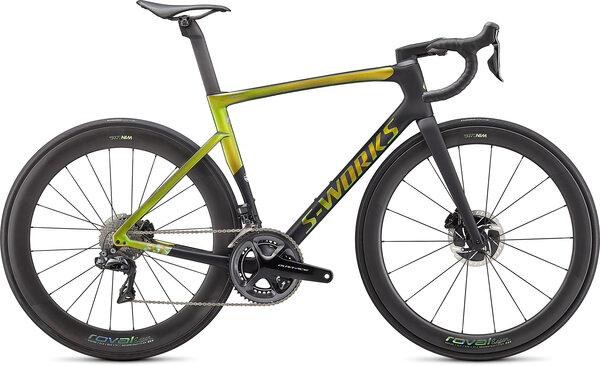 Specialized S-Works Tarmac SL7 - Sagan Collection Color: Decon Green/Yellow