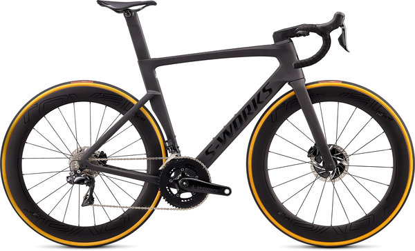 Specialized S-Works Venge Disc Di2 Color: Satin Carbon/Tarmac Black