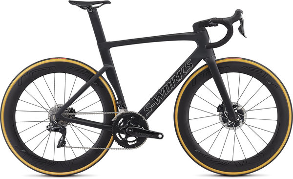 Specialized S-Works Venge Color: Satin Black/Silver Holo/Clean