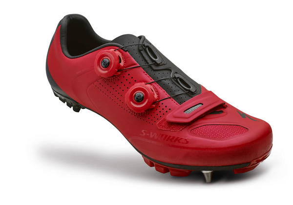 Specialized S-Works XC Shoes Color: Red/Black