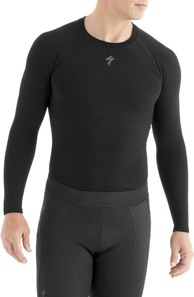 Specialized Seamless Merino Long Sleeve Baselayer Color: Black