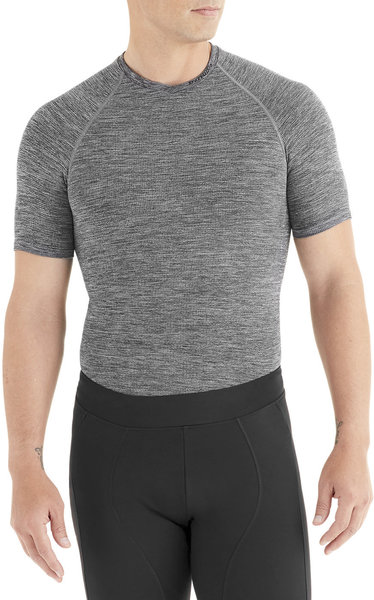 Specialized Seamless Short Sleeve Base Layer Color: Heather Grey