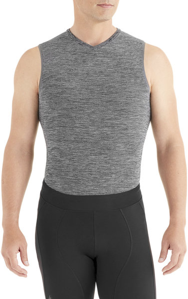 Specialized Seamless Sleeveless Base Layer Color: Heather Grey