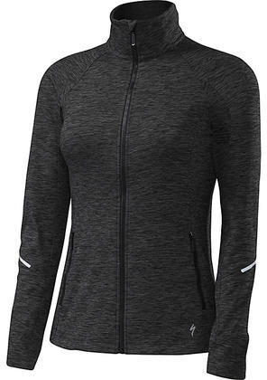 Specialized Shasta Track Jacket Color: Black Heather