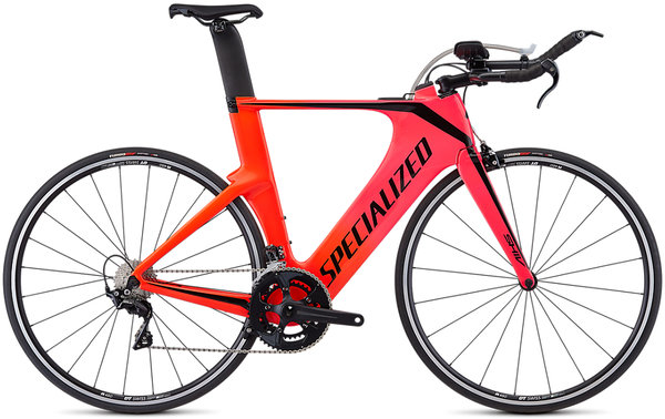 Specialized Shiv Elite Color: Acid Pink/Rocket Red Fade/Tarm