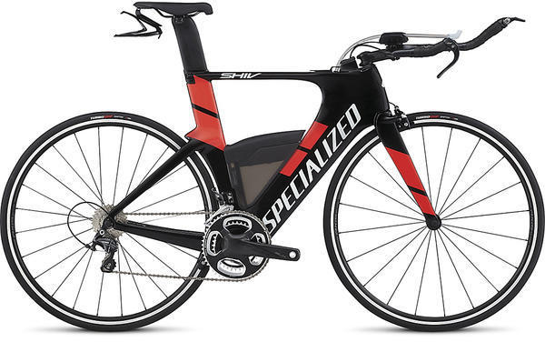 Specialized Shiv Expert Color: Carbon/Rocket Red