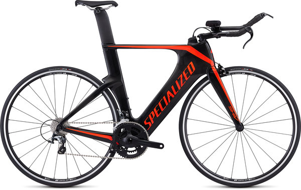 Specialized Shiv Sport Color: Carbon/Rocket Red
