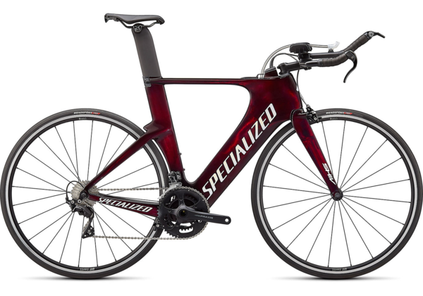 Specialized Shiv Sport Color: Red Tint/White W Gold Pearl