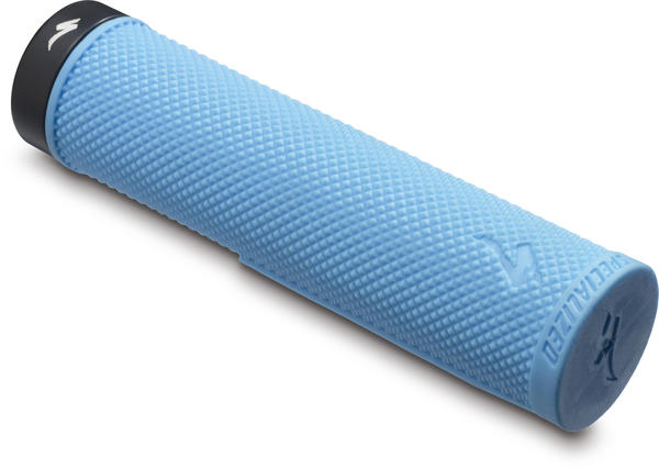 Specialized SIP Locking Grips Color: Cyan