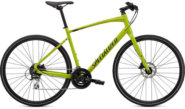 Specialized Sirrus 2.0 Color: Gloss Hyper Green/Black/Satin Black