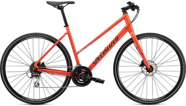 Specialized Sirrus 2.0 ST Color: Gloss Vivid Coral/Summer Blue/Black