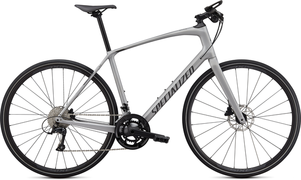 Specialized Sirrus 4.0 Color: Flake Silver/Charcoal/Black