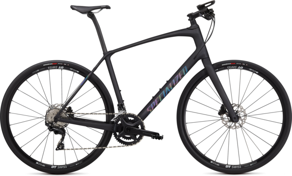 Specialized Sirrus 6.0 Color: Satin Carbon/Black Rainbow Reflective