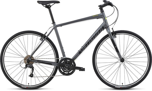Specialized Sirrus Sport Color: Satin Charcoal/Black/Hyper