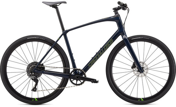 Specialized Sirrus X 5.0 Color: Cast Blue/Hyper/Satin Black