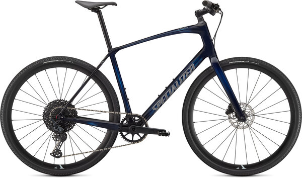 Specialized Sirrus X 5.0 - PRE-ORDER Color: Gloss Blue Tint/Ice Blue/Satin Black Reflective