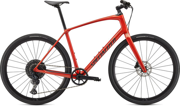 Specialized Sirrus X 5.0 Color: Gloss Redwood/Smoke/Satin Black Reflective