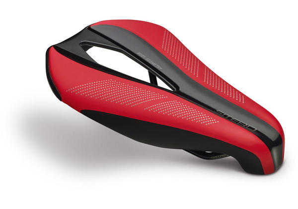 Specialized Sitero Expert Gel Saddle Color: Red