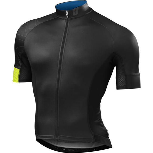Specialized SL Expert Jersey Color: Black/Hyper Green