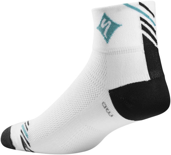 Specialized Women's SL Pro Mid Socks Color: White