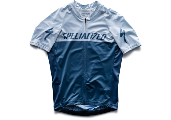 Specialized SL Jersey Color: Storm Grey/Ice Blue Team