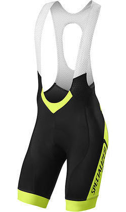 Specialized SL Pro Bib Shorts Color: Team Neon Yellow