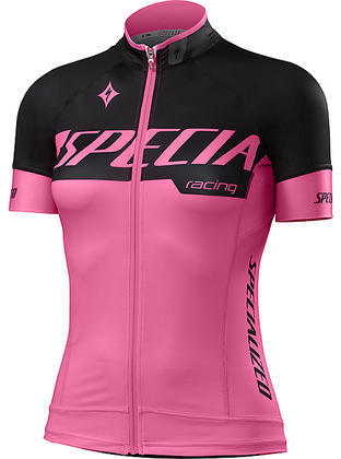 Specialized Women's SL Pro Jersey Color: Team Neon Pink/Black